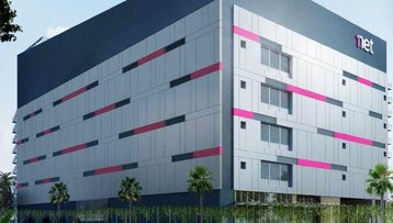 1-Net's new data center located at Marsiling, in the northern part of SIngapore
