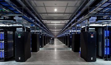 Facebook data center in Altoona, Iowa