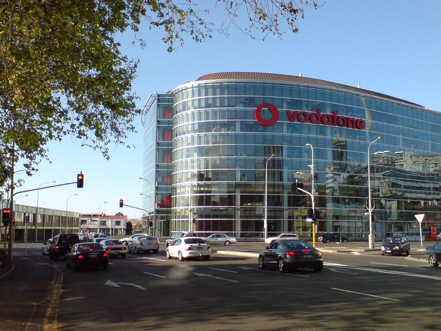 Vodafone Building near Victoria Park, New Zealand. Image courtesy of the Creative Commons