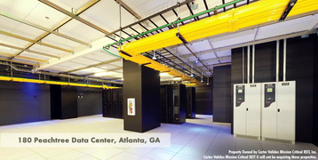 180 Peachtree, Atlanta data center, owned by Carter Validus