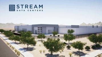 Stream campus in Goodyear - 3D render