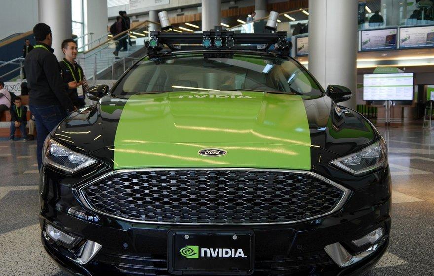Nvidia coche autónomo