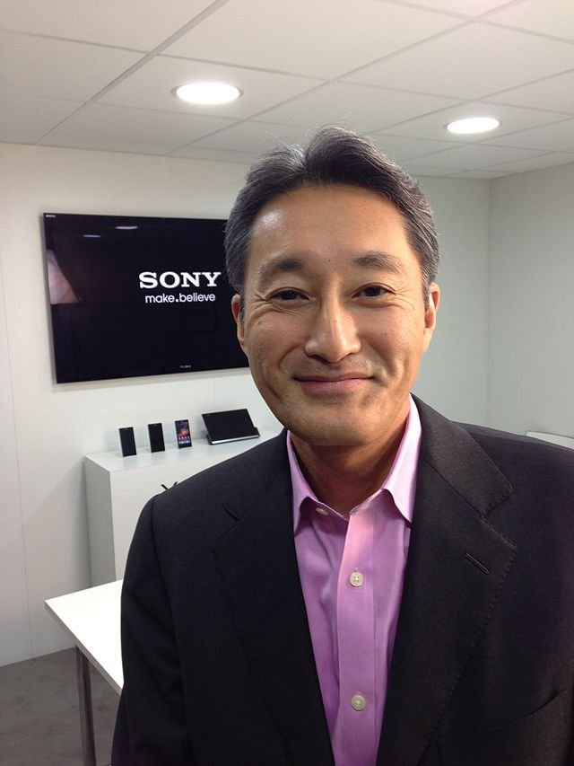Sony president and CEO Kazuo Hirai