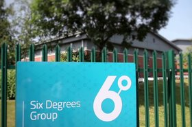 Six Degrees Group sign