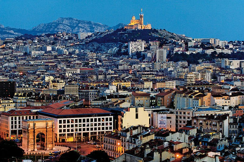 Marseille. Image courtesy of the Creative Commons