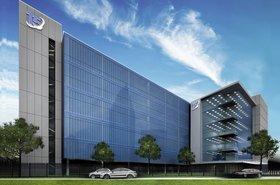 T5 data center on 899 Stemmons - artist's impression