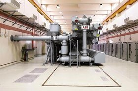 abb gas insulated switch gear substation