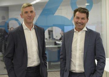 Alastair Mills, left, David Howson, right