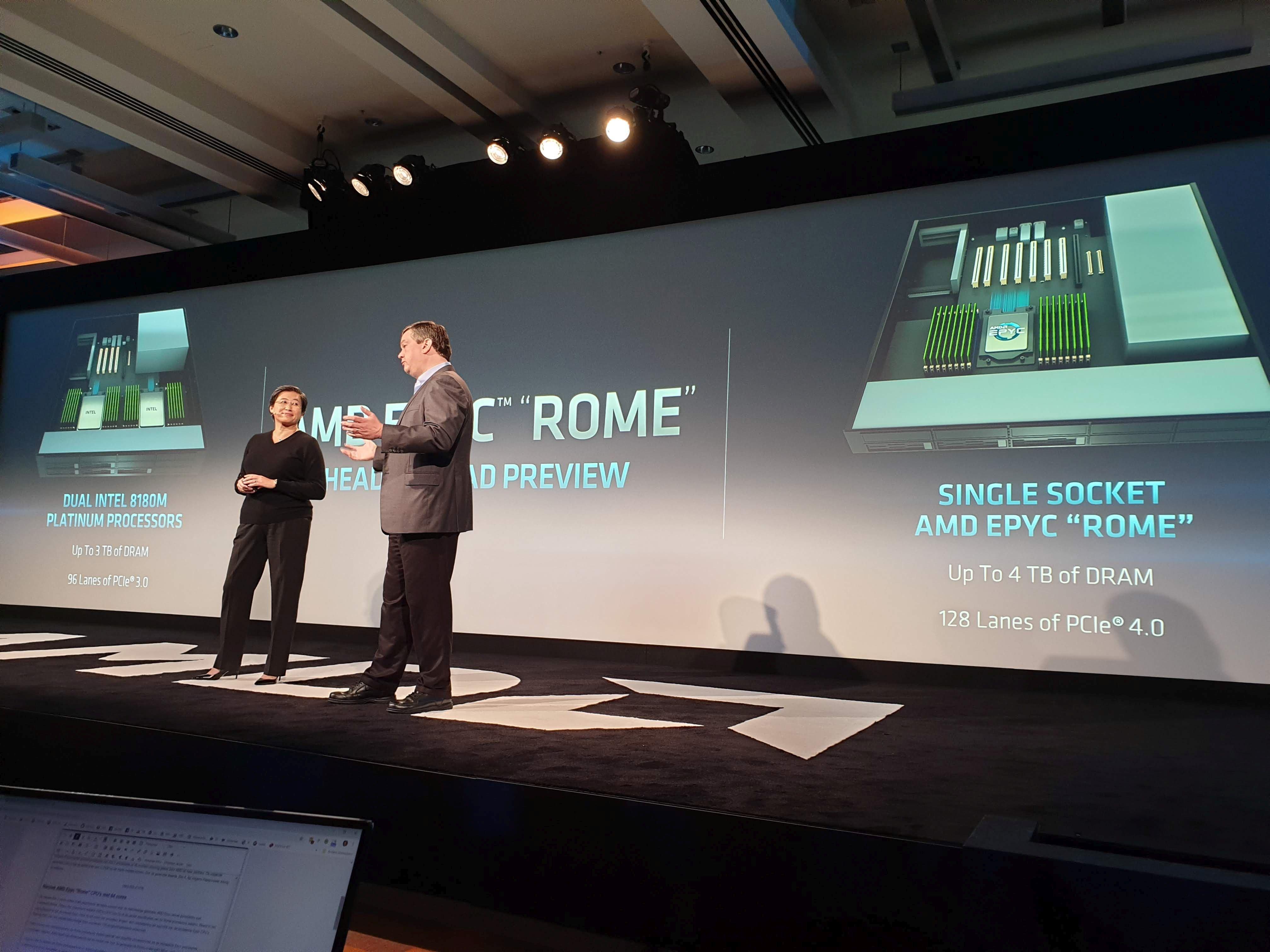 Amd Details Next Gen Data Center Chip Rome Dcd