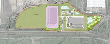 AWS Didcot proposed layout