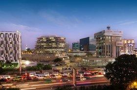 Accra cityscape, Ghana