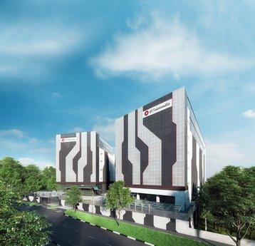 Artist's impression of STT Defu 2 which will form STT GDC's flagship data center campus