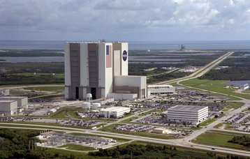 The Vehicle Assembly Building, Kennedy Space Center
