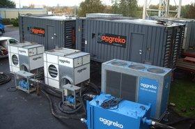 Aggreko's gas-powered generators.JPG
