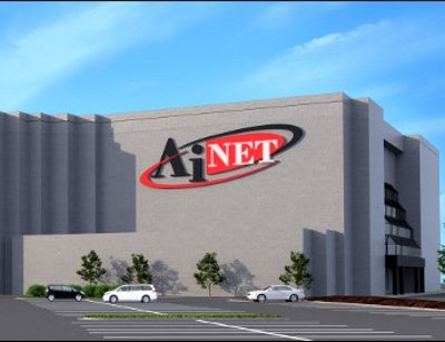Rendering of AiNetÔÇÖs future data center near Fr. Meade in Maryland. Courtesy of AiNet.