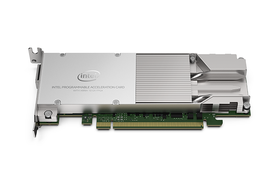 Intel Programmable Acceleration Card with the Arria 10 GX FPGA