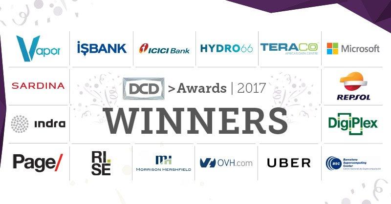 DCD Awards: Global Award Winners announced - DCD