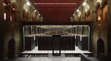 Mare Nostrum Barcelona Super Computing Center wins vote for Most Beautiful Data Center