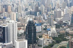 Bangkok, in Thailand