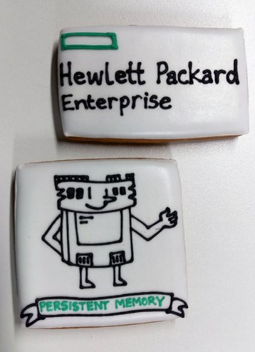 Some biscuitsbaked by HPE for the occasion