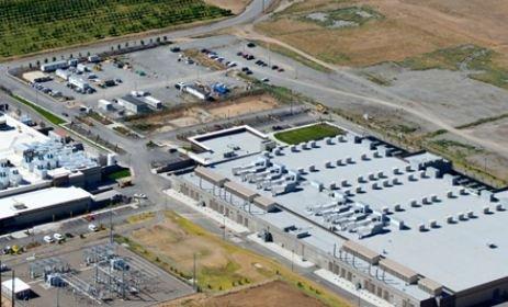 Sabey's campus in Wanatchee - home to a BlackRock data center