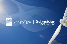 Renewable Choice Energy + Schneider Electric