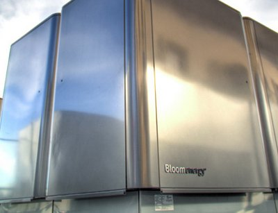 The Bloom Energy Bloom Box, soon to be installed at eBay's Utah data center