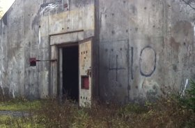 One of the bunkers at the Andrew Air Force Base