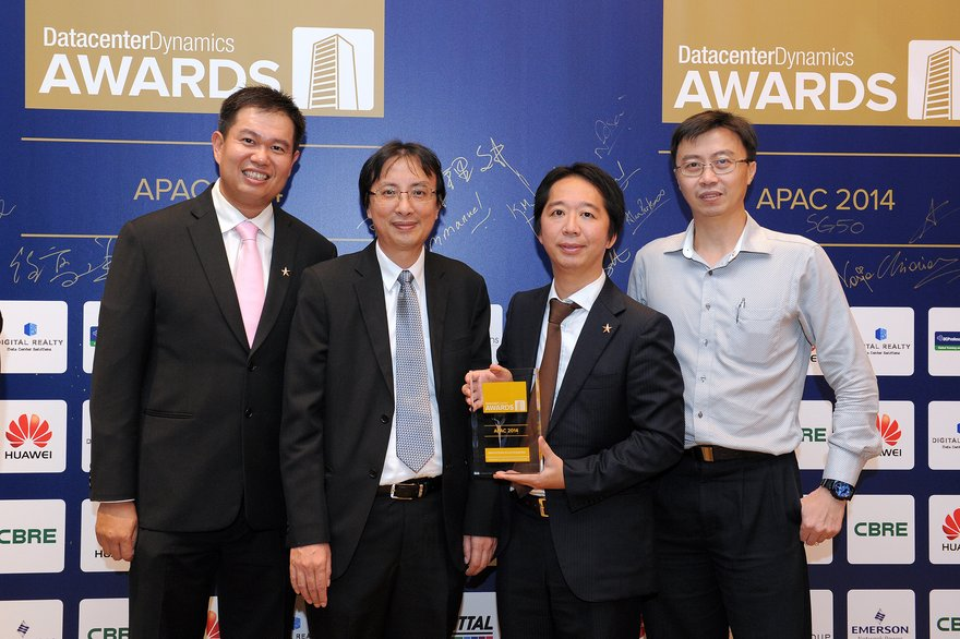 DatacenterDynamics Asia Pacific Awards Winners 2014