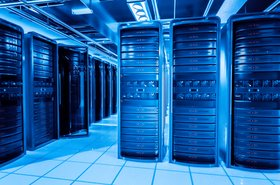 Server racks, data center, CEG