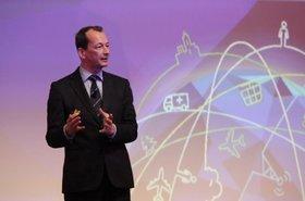 Edwin Diender, CTO, Huawei's Switch & Enterprise Communications Solutions, at CeBIT 2015