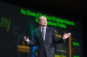 John Chambers at Oracle OpenWorld 2011