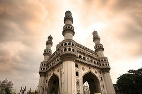 charminar tower telangana hyderabad india thinkstock photos sreedhar yedlapati
