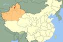 Karamay on China's Map