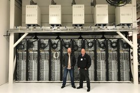 Christian Belady and Sean James at Microsoft's Advanced Energy Lab