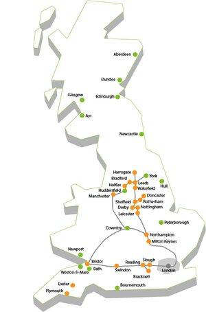 CityFibre: major metro footprint post-acquisition