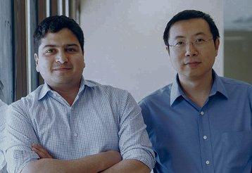 Gaurav Manglik (left) and Tenry Fu (right)