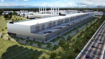 Echelon data center in Clondalkin - 3D render