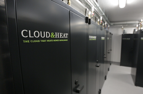 Cloud & Heat facility in Dresden