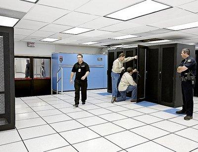 Inside Colo5ÔÇÖs Jacksonville, Florida, data center.