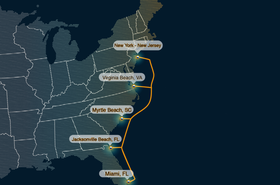 Confluence networks eastern seaboard subsea fiber network