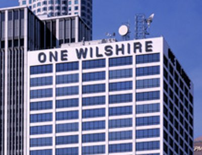 One Wilshire, a carrier hotel in Los Angeles, California