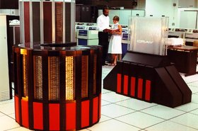 Cray II retro supercomputer