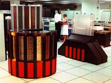 Cray II retro supercomputer