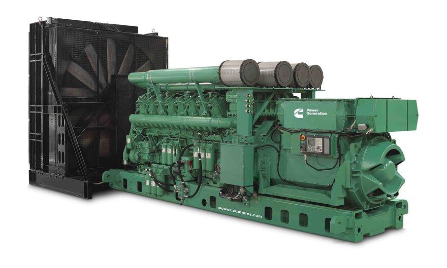 A Cummins generator