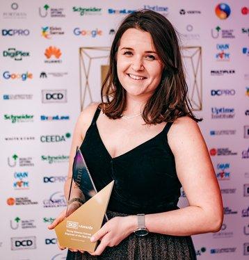 DCD Awards 2019 Sarah Davey