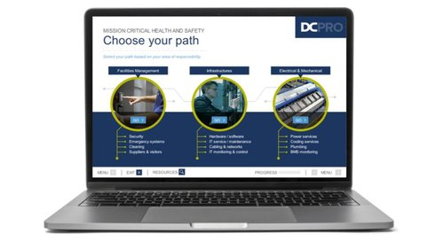 DCpro laptop e-learning