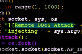 Not what a DDoS attack looks like