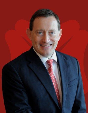David Gledhill, group chief information officer at DBS Bank