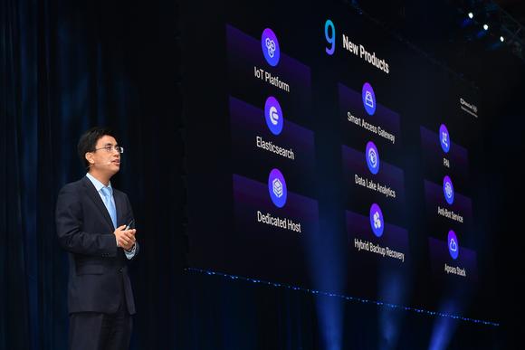 Dr. Derek Wang, chief cloud architect at Alibaba Cloud International
